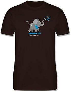 Kindergarten - Kindergarten 2017 süßer Elefant - Kinder T-Shirt
