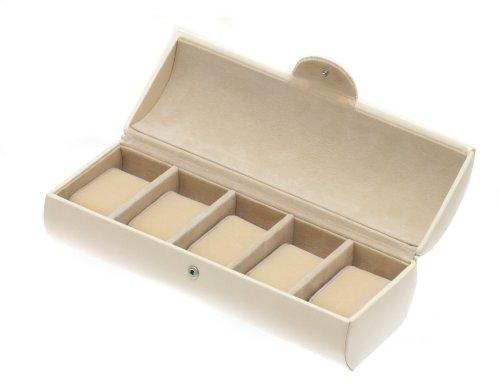 Davidt's Unisex Watch Box For 5 Watches Euclide 367511.04 Beige