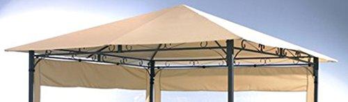 Ersatzdach 3x3m Antikpavillon Sand