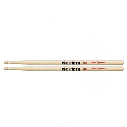 Vic Firth Drumsticks 5B (Hickory, Holzkopf) (Drum Sticks Vic)