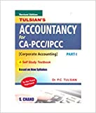 Tulisan's Accountancy for CA-IPCC Group I with quick Revision Book