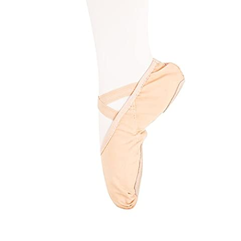 Filles Femme Demi Pointe Toile Chaussures de Ballet EU25 ~