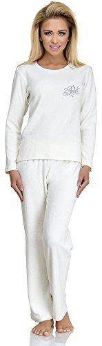 Merry Style Pyjama Femme 713 Ecru