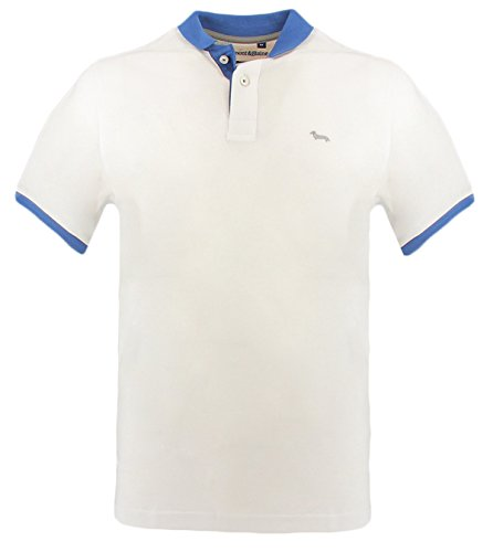 Harmont & blaine polo contbianco polo in cotone bianco m uomo