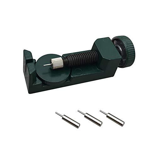 oneller Uhrenarmband Riemengliedstift Entferner-Reparaturwerkzeugsatz mit 3 zusätzlichen Stiften ()