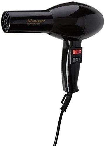 Hair Tools Master Turbo Dryer 2000 Black Hair Dryer