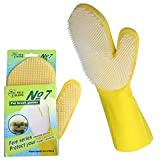 #1: Royal Pet Dog Bath Brush Glove | Pack of Single Piece | Waterproof | Oil & Dirt Resistant | Color May Vary |
