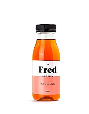 Te Fred cold brew. Rooibos avec vanille 8 x 250 ml.