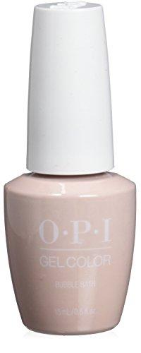 Bubble Bath Set (OPI gelcolor Nagellack Nail Gel ,Bubble Bath, 1er Pack (1 x 15 ml))