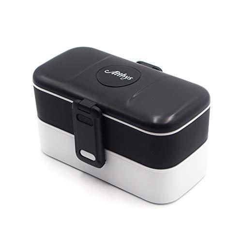 Atthys Lunch Box Negro | Tupper Design 2