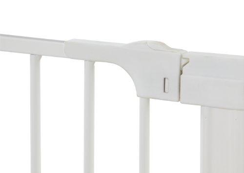 Baby Dan selbstschließendes Schutzgitter Two-Way Auto Close – hergestellt in Dänemark + TÜV/GS geprüft, 73.5-79.6, Farbe: Weiß - 4