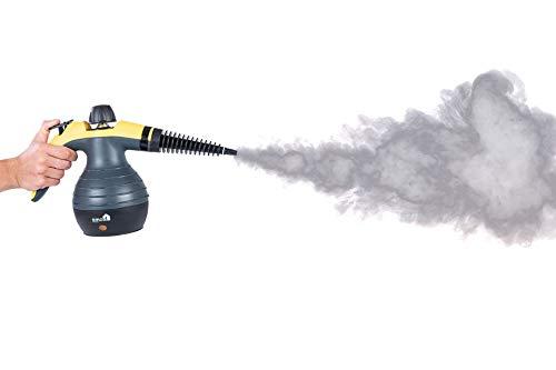 Power Handdampfreiniger Handdampfer Dampfente Dampfreiniger Steam cleaner (Gelb)
