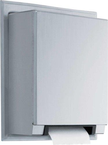 Bobrick 29744Universal automático de acero inoxidable dispensador de toalla de papel en...