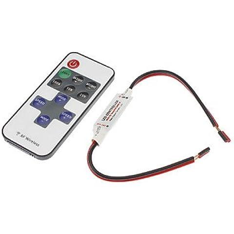 XMQC*8-Modo de luz única lámpara LED tira de control remoto de RF