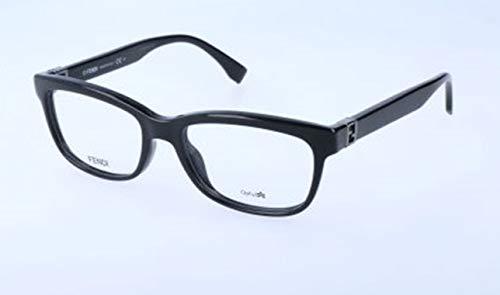 Fendi Damen FF 0009 D28/17-51-17-135 Brillengestelle, Schwarz, 51