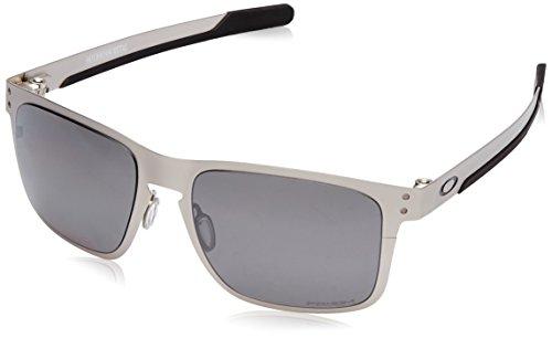 Oakley Herren Holbrook Metal 412309 Sonnenbrille, Silber (Plateado), 55