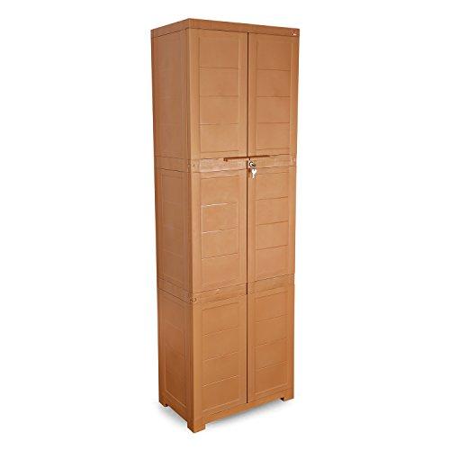 locker storage titan box kis plastic multispace outdoor garden cupboard water resistant product