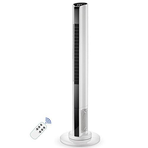 Ventiladores ZR Torre oscilante de Control Remoto Temporizador 3 Archivos Ajuste de...