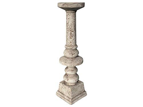 gilde-cemento-gris-antiguo-candelabro-empire-81-cm-gartendeko-decorativo