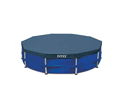 Intex 12' Round Frame Set Easy Swimming Pool Debris Cover / 28031E ..(from#_VM Innovations_40390756849661 -