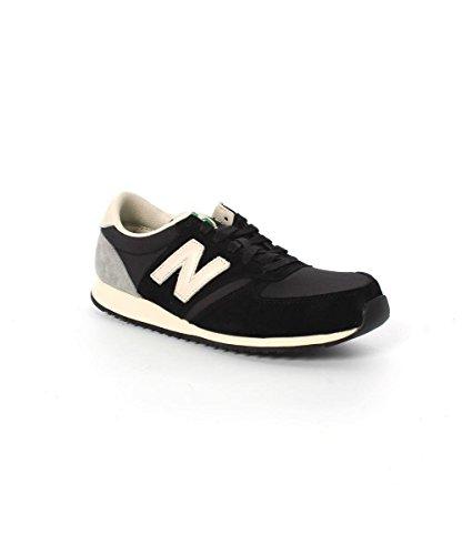 New Balance - Zapatos para hombre, color black/grey, talla 42.5