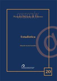 Estadística (Manual docente de teleformación de Turismo) por Eduardo Acosta González