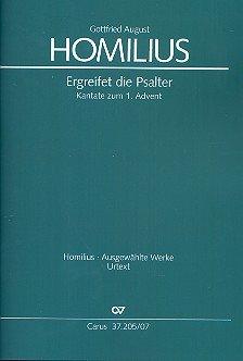 Homilius: Ergreifet die Psalter, ihr christlichen Chöre (II.1). Studienpartitur