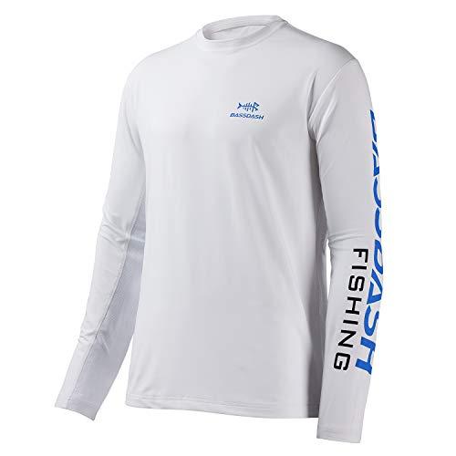 Bassdash - Camisa de Pesca para Hombre, protección Solar UV UPF 50+, Manga Larga - - X-Large