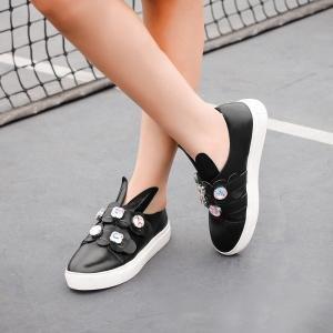 hexiajia , Chaussures à lacets femme Noir