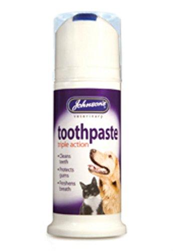 Artikelbild: Johnsons Zahnpasta Triple Action Hund 50g 6Stück
