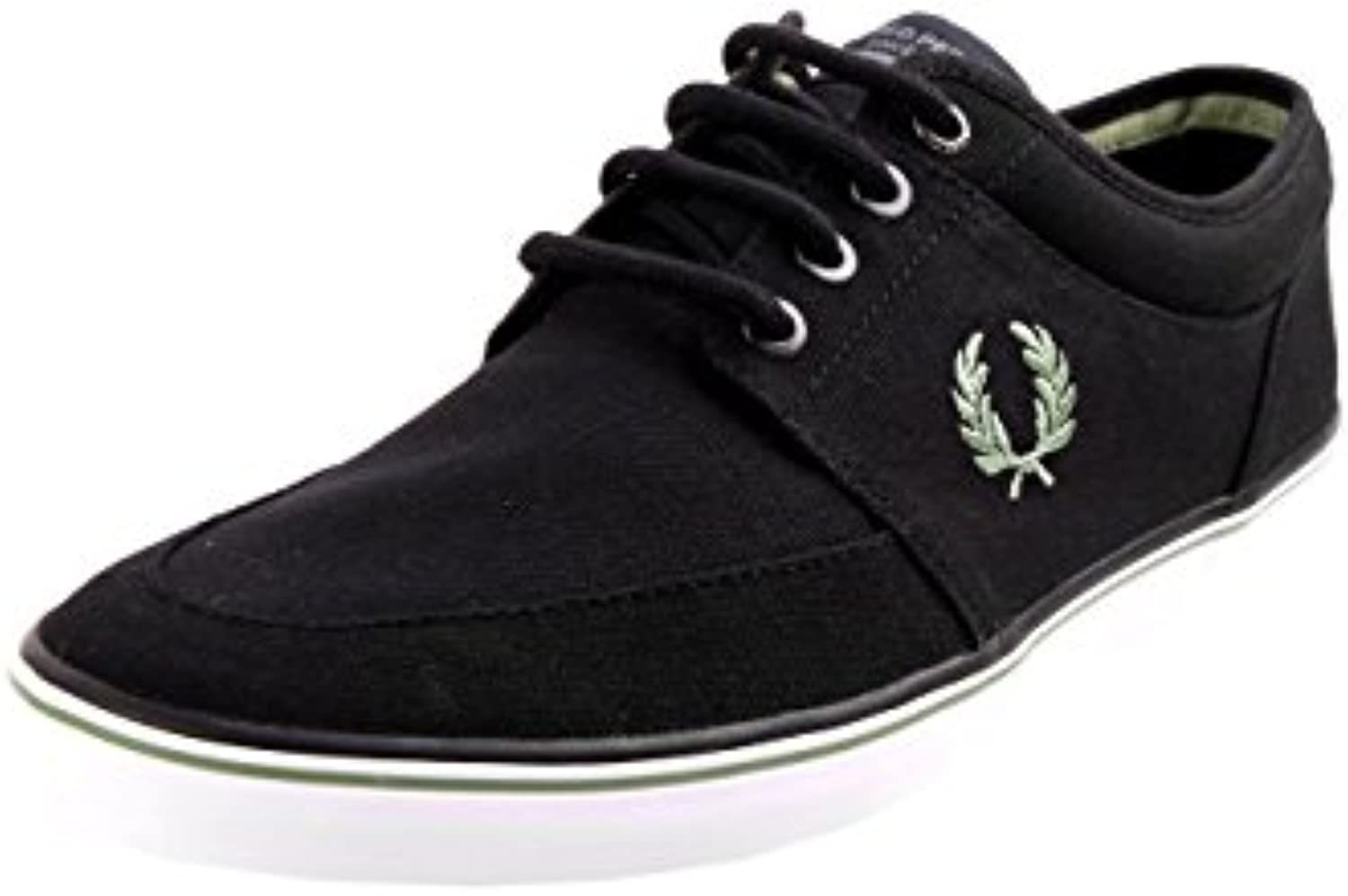 Men's/Women's Fred Perry Stratford Online Canvas Black Moderate price Online Stratford Good quality d47b38