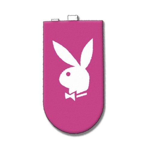 Playboy Lizenzprodukt Pink Handy oder iPod Socke mit Bunny Tex in weiß (Playboy Bunny Handy-zubehör)
