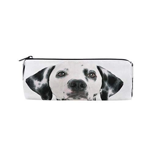 Pencil Case Cute Puppies Bernese Mountain Dog Snow School Pen Pouch Office Zippered Pencil Cases Holder Women Makeup Bag
