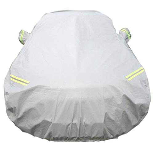 AJZGF Car sunscreen / rain / waterproof / antifreeze / car anti-dirty cap Car sunscreen full garage cover (color: A-BMW 530)