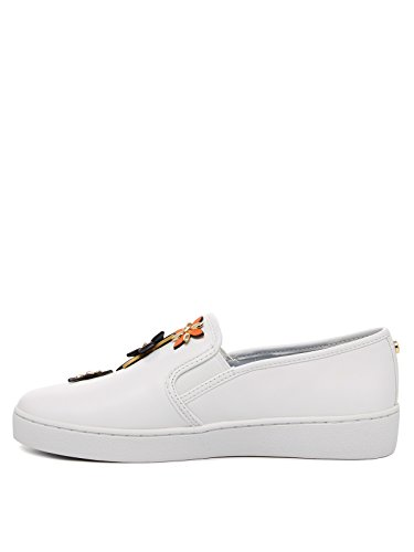 MICHAEL KORS DONNA 43R7HEFP1L 827 SLIP-ON BIANCO VITELLO SPRING-SUMMER 2017