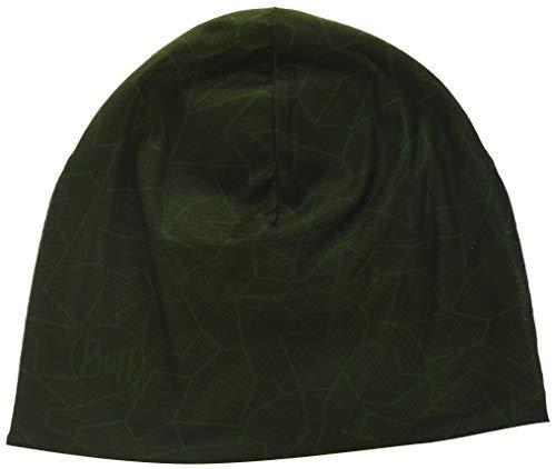 Buff Microfiber Reversible Hat Mütze, Block Camo Green, One Size