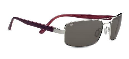 Serengeti eyewear lunettes de soleil tosca M Argent - Shiny Silver 5f528f75c882