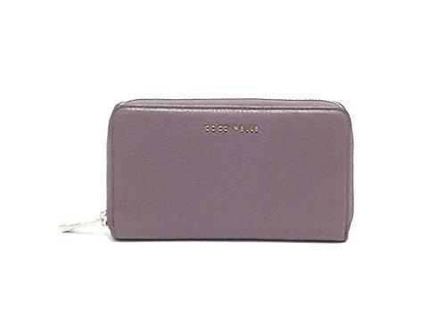 Coccinelle donna portafogli, Metallic soft XW0-113201, pelle viola A6102