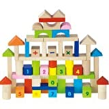 Best Wooden Blocks - Viga 100 Piece Wooden Blocks Set Review