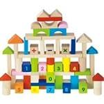 Viga 100 Piece Wooden Blocks Set