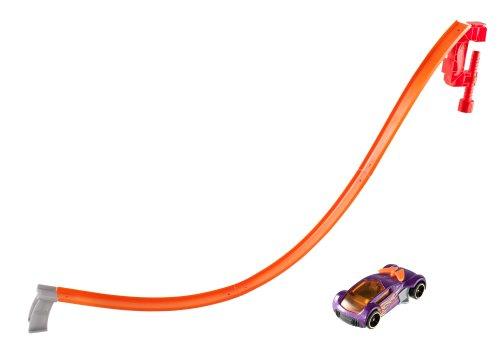 Hot Wheels - W5368 - Véhicule Miniature - Circuit - Piste Adrénaline - Mega saut
