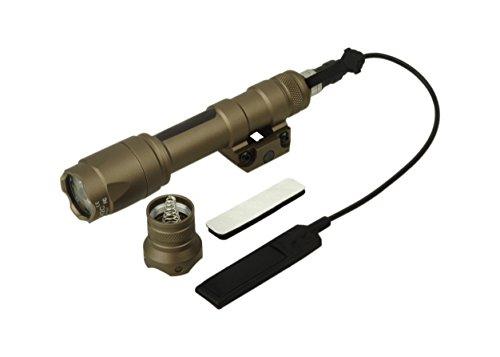 Elemento Airsoft SF M600c arma tattica LED Light Scout torcia EX 072(abbronzatura) ,luci tattici,torcia tattica,luci di armi,Torcia elettrica di caccia,torcia elettrica