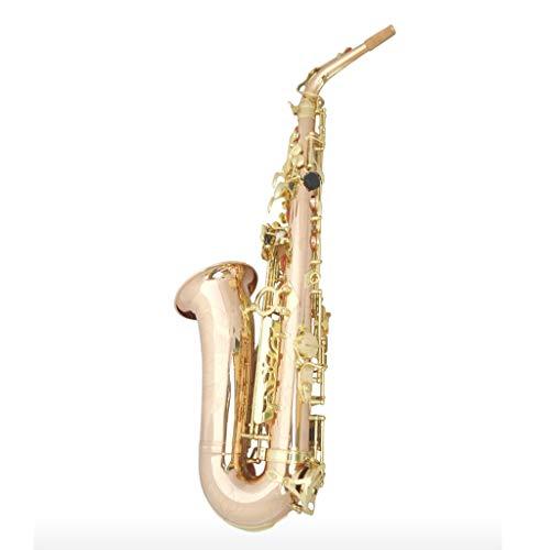 Saxophone Holzblasinstrumente Alto E/F-Praxis oder Leistung Super-Sound-Hersteller Direktvertrieb (Color : Gold)