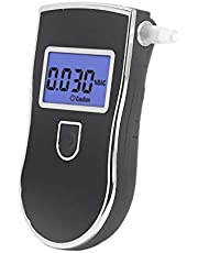 Real Instruments Analyser Detector with 5 Mothpiece ALC AT6000 3 Digit Portable at 818 Digital LCD Display Breath at 819 Alcohol Tester Breathalyzer at 1100