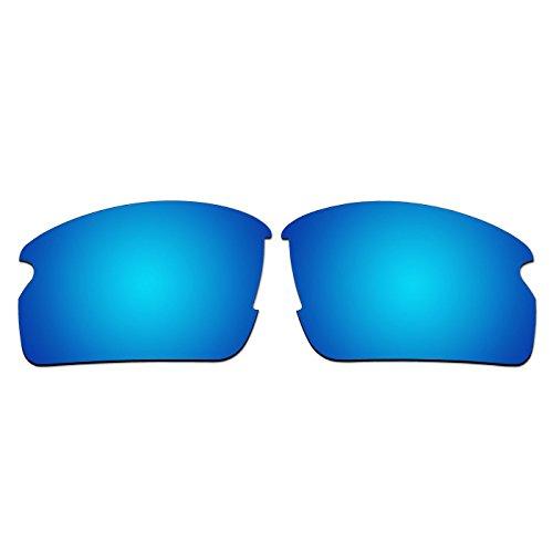 aCompatible Ersatz-Objektive für Oakley Flak 2.0Sonnenbrille oo9295(nicht fit Flak 2.0XL), Ice Blue - Polarized