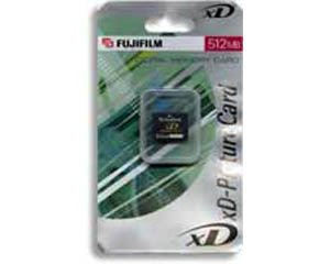 FujiFilm xD Type H 512Mb 512 Mb Type H Picture Mémoire Carte