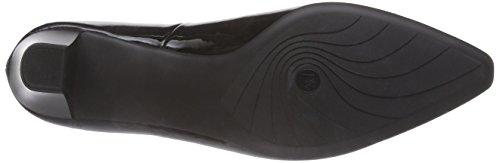 Peter Kaiser Sally, Chaussures à talons - Avant du pieds couvert femme Noir - Schwarz (SCHWARZ LACK 010)