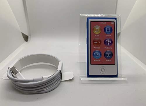 Apple ipod nano 7. generation blau 16gb mp3 player bluetooth ...