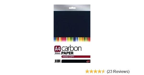 A4 Black Handcopy Carbon Paper 10 Sheets