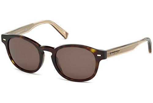 lunettes-de-soleil-ermenegildo-zegna-ez0029-c51-52j-dark-havana-roviex